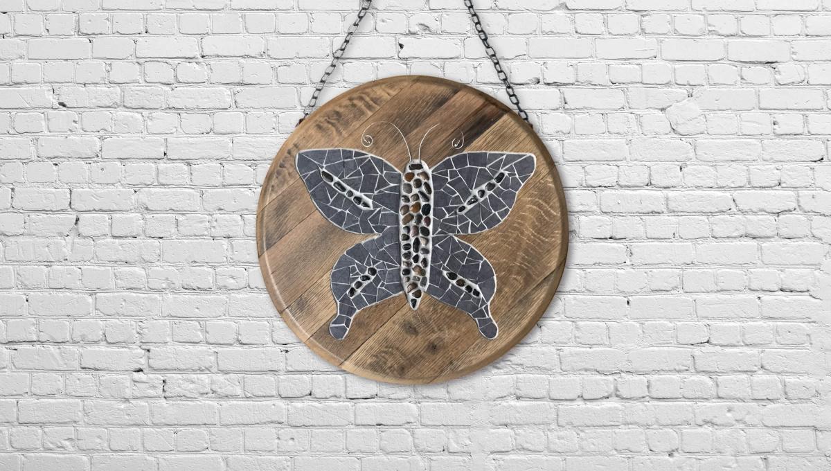 BoisMosaique-Papillon